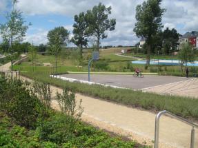 Speelplaats Wohnsiedlung Luxemburg
